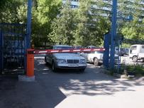 Автоматический шлагбаум на автопарковку