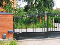 Рычажный привод для распашных ворот