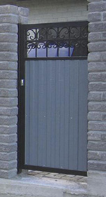 Калитка в стиле ворот