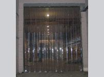 Пластиковые ПВХ завесы термоизолирующие