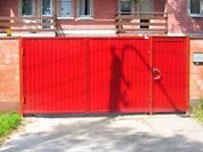 Стоимость распашных ворот