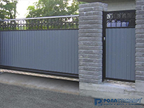 Производство металлических ворот