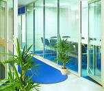 Офисные перегородки для разделения пространства офисов, торговых центров