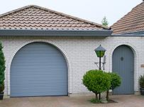 Ворота для гаража с панелями S гофр