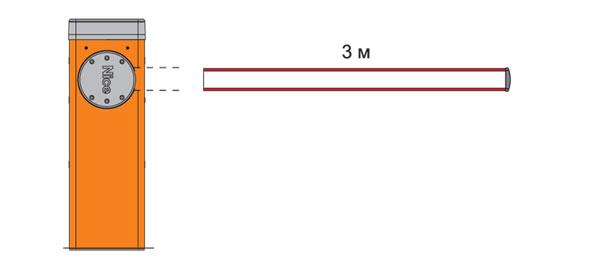 Шлагбаум M3bar