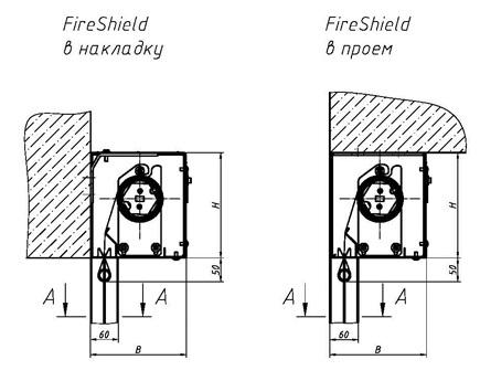 Противопожарная завеса EI120