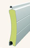 Профиль алютех для роллетных ворот AG77H